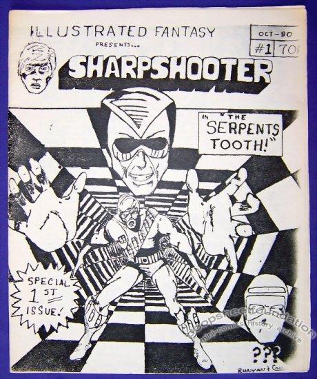 ILLUSTRATED FANTASY #1 mini-comic KIRK CHRITTON Mark Runyan 1980