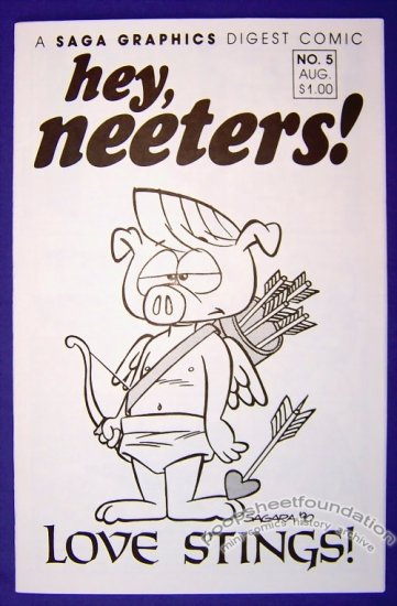 HEY, NEETERS #5 mini-comic MIKE SAGARA G. Raymond Eddy furry 1990