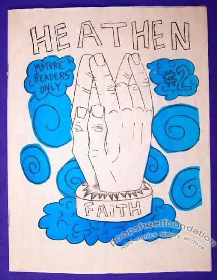 HEATHEN #2 mini-comic MORGAN PARDUCCI minicomic 2003