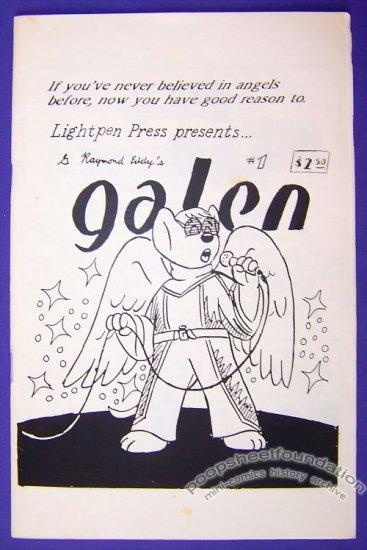 GALEN #1 mini-comic G. RAYMOND EDDY Christian furry 1990