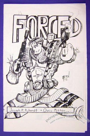 FORCED mini-comic CHRIS MITTEN Joseph Rybandt ROB LIEFELD 1992