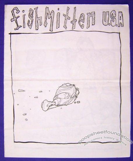 FISHMITTEN USA mini-comic T.S. ROOT minicomic
