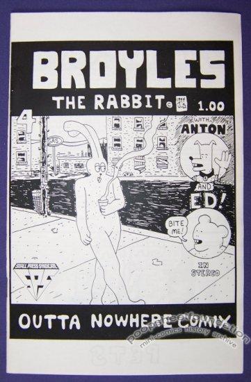 BROYLES THE RABBIT #4 mini-comic JERRY SMITH small press SPS 1994