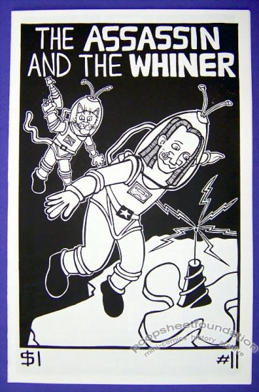 ASSASSIN AND THE WHINER #11 mini-comic CARRIE McNINCH 1999