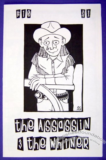 ASSASSIN AND THE WHINER #10 mini-comic CARRIE McNINCH 1999