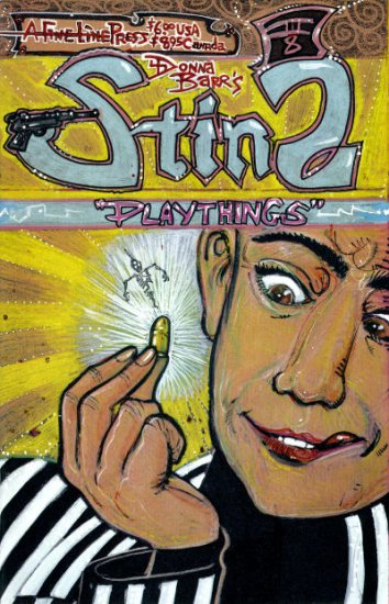 STINZ: PLAYTHINGS - Donna Barr - A Fine Line Press - FN/VF 1999