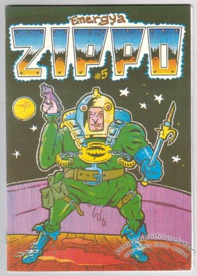 ZIPPO #5 Finnish comix REIMA MAKINEN sci-fi EL BORBAH Wally Wood 1991