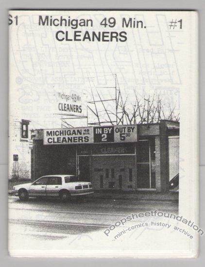 MICHIGAN 49 MIN. CLEANERS #1 mini-comic STEPHEN DESTEFANO 1989