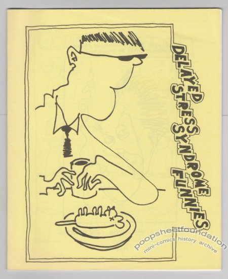 DELAYED STRESS SYNDROME mini-comix STEVE WILLIS 2nd 1983