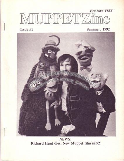 MUPPETZINE #1 Jim Henson Muppets fanzine fan zine 1992