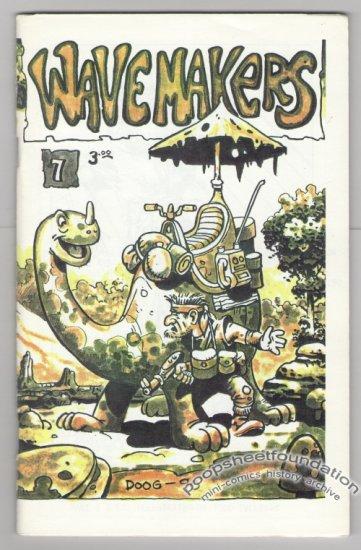 WAVEMAKERS #7 Canadian mini-comic EARL GEIER Brad Foster GREG HYLAND 1990