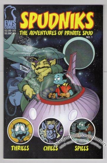 SPUDNIKS #1 Canadian mini-comic PAUL McCUSKER 2004