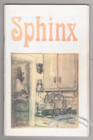 SPHINX Vol. 2, #2 mini-comic LARRY JOHNSON zine 2005