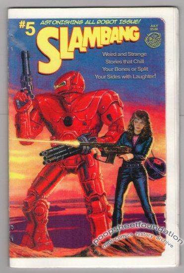 SLAM BANG Vol. 2, #5 mini-comic MATT FEAZELL Christina Wald LARRY BLAKE Jim Siergey ROBOTS 2004