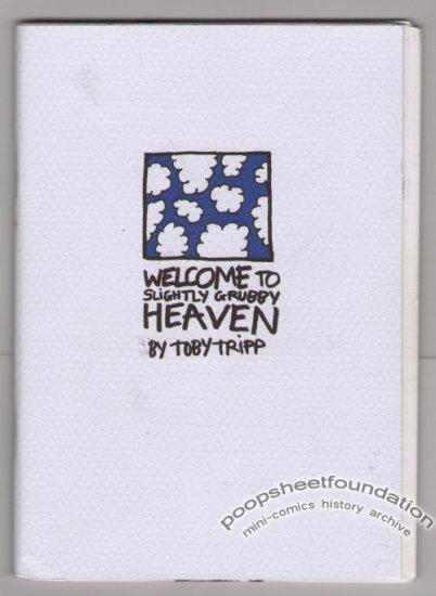 SLIGHTLY GRUBBY HEAVEN British mini-comic TOBY TRIPP small press 2001