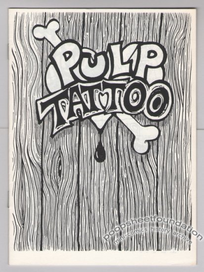 PULP TATTOO Canadian mini-comic MARK PETLOCK underground comix 1992