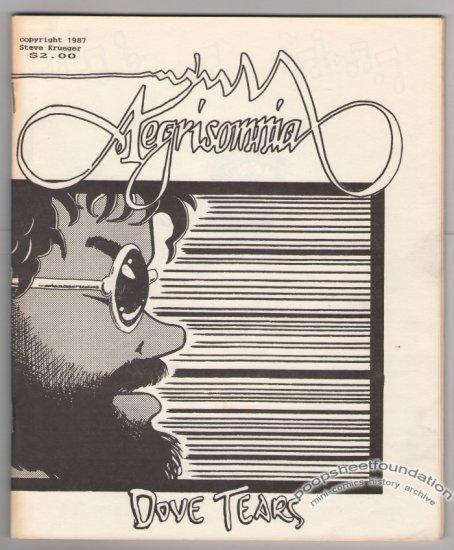 AEGRISOMNIA #2 mini-comic STEVE KRUEGER 1987