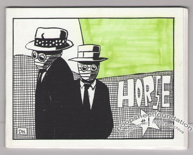 HORSE #1 mini-comic DYLAN WILLIAMS Puppy Toss 1990s