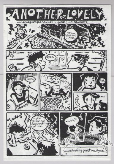 ANOTHER LOVELY mini-comic JOSE LUIS OLIVARES