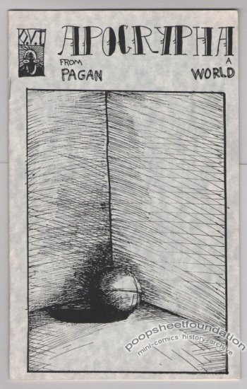 APOCRYPHA FROM A PAGAN WORLD mini-comic JASON WHITLEY 1989