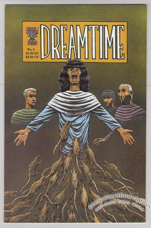 DREAMTIME #3 comic book HENRIK REHR 1995