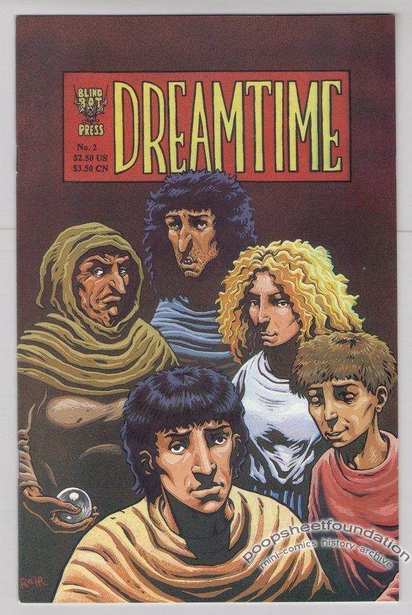 DREAMTIME #2 comic book HENRIK REHR 1995