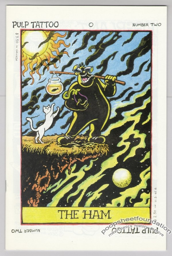 PULP TATTOO #2 Canadian comic MARK PETLOCK 1994