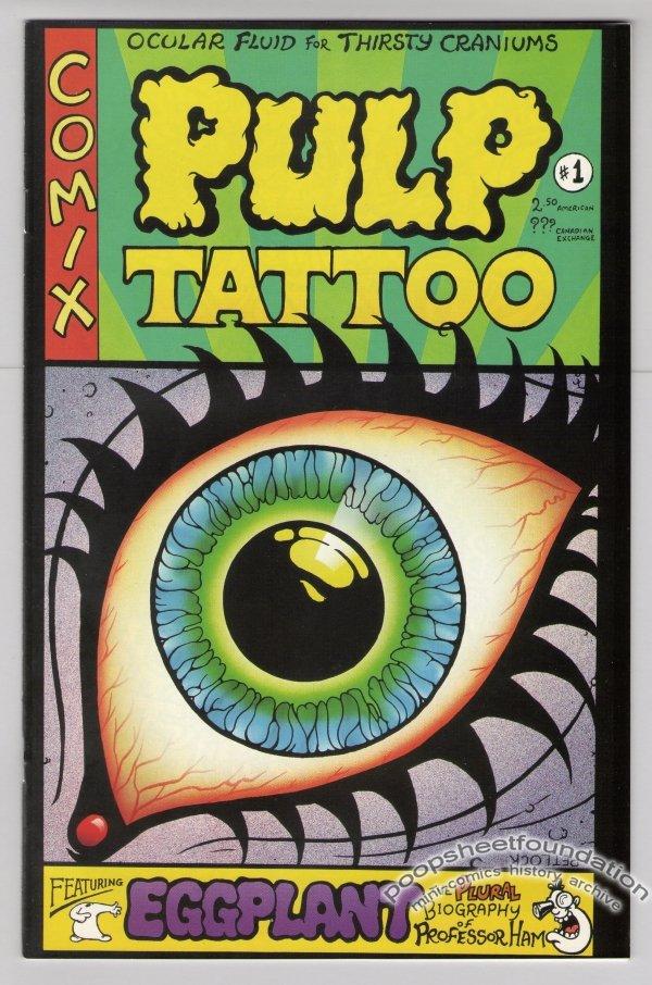 PULP TATTOO #1 Canadian comic MARK PETLOCK 1994