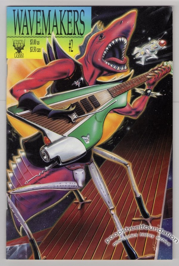 WAVEMAKERS #2 comics EVAN DORKIN Harvey Pekar MATT HOWARTH Kenneth Smith WAYNO 1991