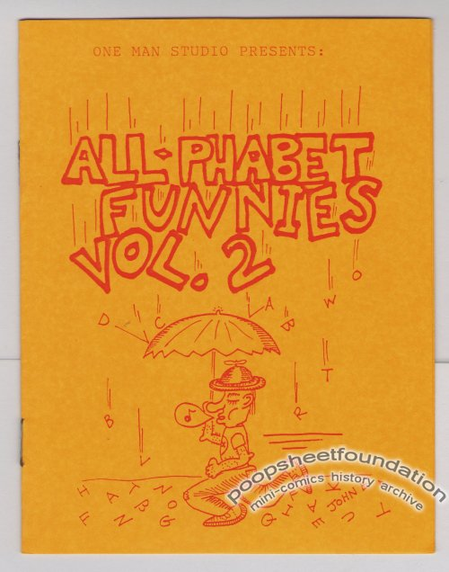 ALL-PHABET FUNNIES #2 mini-comic RICK GEARY Brad Foster PAR HOLMAN 1986