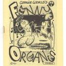 FUNNY ORGANS #1 underground comix DAVID MILLER Tom Brinkmann PETE SILVIA 1980