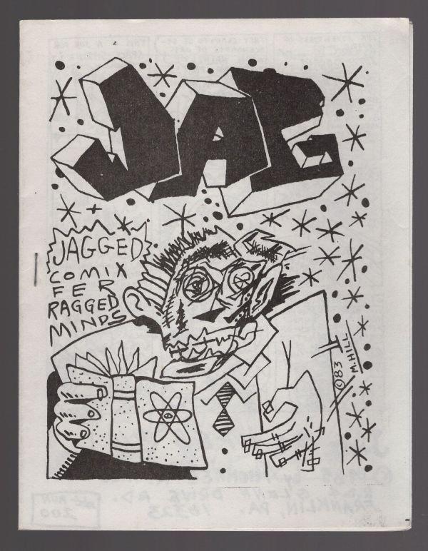JAG underground comix MIKE HILL mini-comic newave minicomix small press 1984