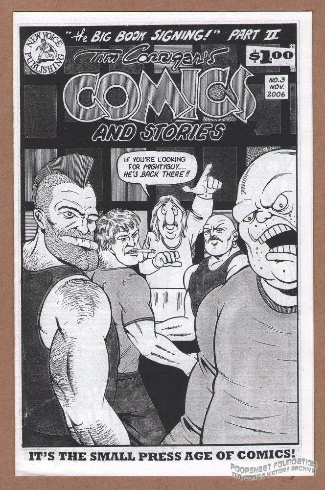 Tim Corrigan's Comics and Stories #3 small press mini-comic zine Mightyguy 2006