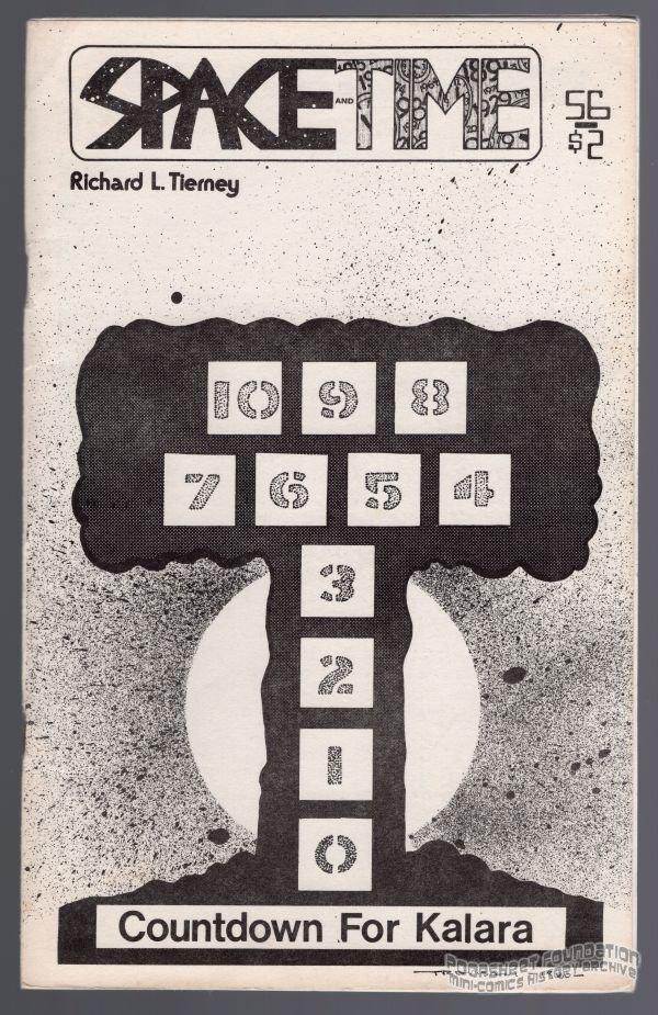 SPACE AND TIME #56 fanzine MICHAEL RODEN Allen Koszowski SF fantasy zine 1980