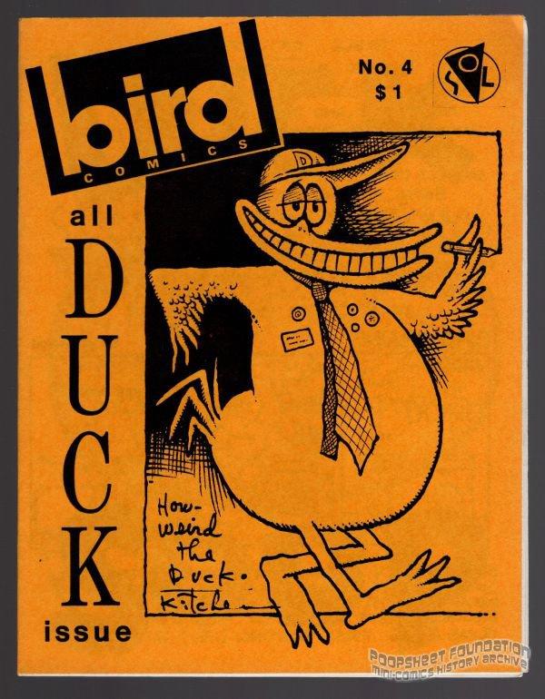 BIRD COMICS #4 mini-comix DENIS KITCHEN Wayno JEFF GAITHER Lee Burks 1986