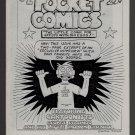 POCKET COMICS #2 mini-comic GEORGE STASINOS Victor Gates comix 1987
