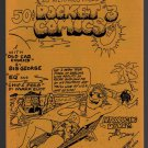 POCKET COMICS #3 mini-comic VICTOR GATES George Stasinos comix 1988