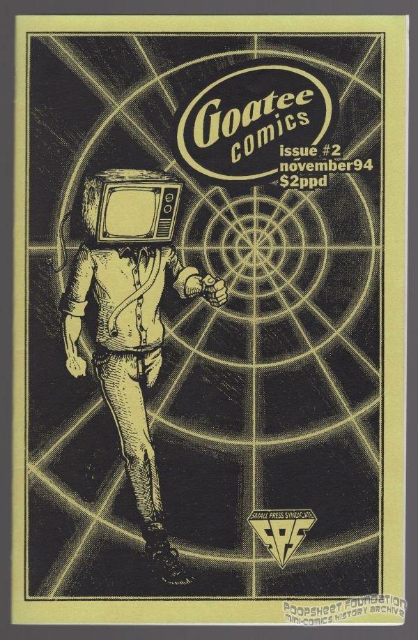 GOATEE COMICS #2 mini-comic TYIM COURTS Max Ink small press minicomic 1994