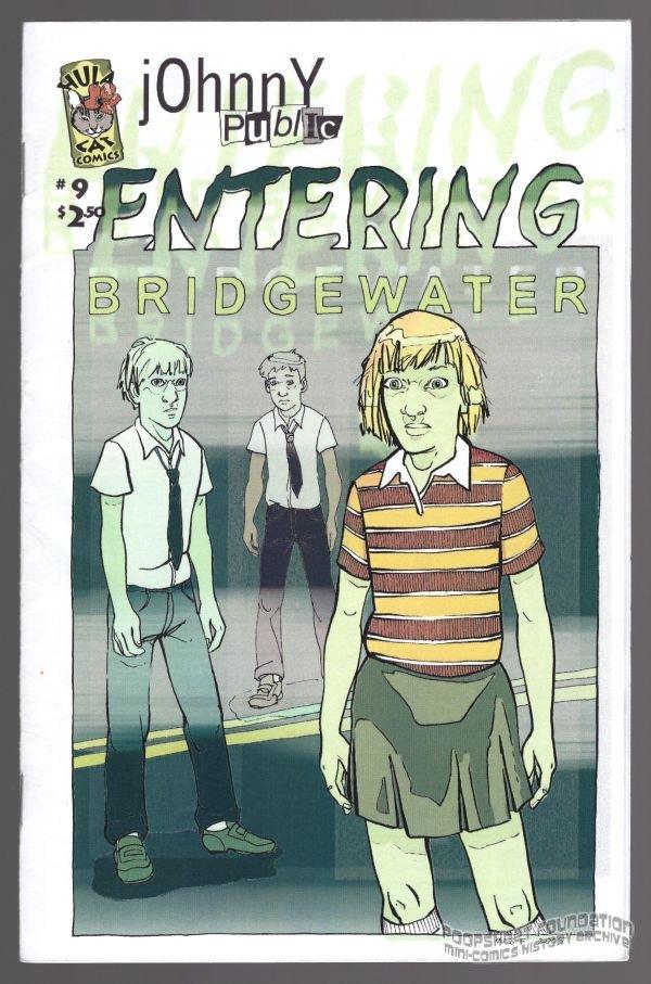 JOHNNY PUBLIC #9 mini-comic WENDI STRANG-FROST Sean Frost minicomic small press 2005