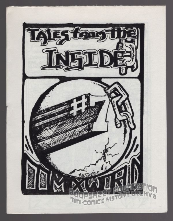 TALES FROM THE INSIDE #7 mini-comic MACEDONIO James Waltman underground comix 1982