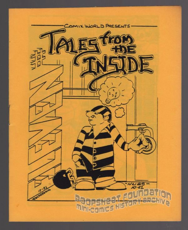 TALES FROM THE INSIDE #11 underground comix MACEDONIO James Waltman minicomix 1983