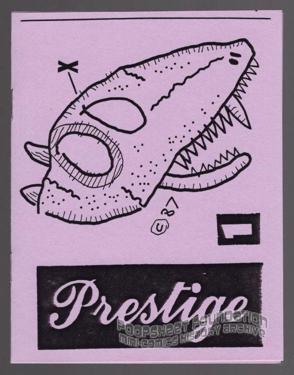 PRESTIGE #1 underground comix ANDY NUKES dada minicomix minicomic 1987