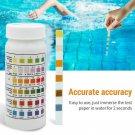 Home Swimming Pool Test Strip Paper Chlorine pH Alkalinity Water Hardness Tester