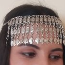 Pomegranate Forehead Silver Plated Drop, Armenian Headpieces Drop