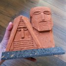 Artsakh Monument in Stone, We Are Our Mountains in Tuff Stone, Karabakh Sculpture
