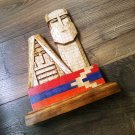 Artsakh Monument in Wood, We Are Our Mountains in Wood, Karabakh Sculpture