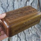 Handmade Double Armenian Wooden Box with Eternity Sign in One