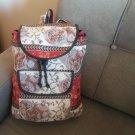 Handmade Armenian Backpack Bag, Ethnic Backpack Bag, Armenian Backpack with Pomegranate