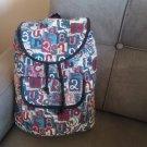 Handmade Armenian Backpack Bag with Armenian Alphabet, Backpack Bag, Ethnic Bag, Carpet Bag