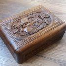 Handmade Armenian Wooden Box with Pomegranate